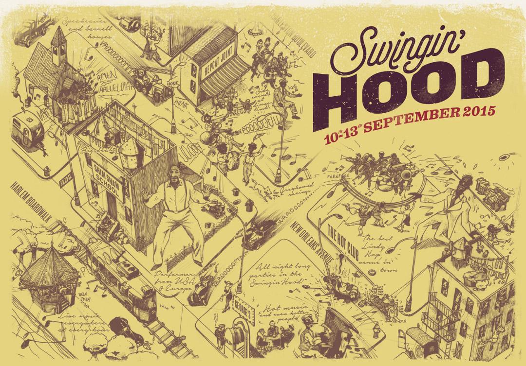 Torino Swing Festival - Swingin'Hood Map