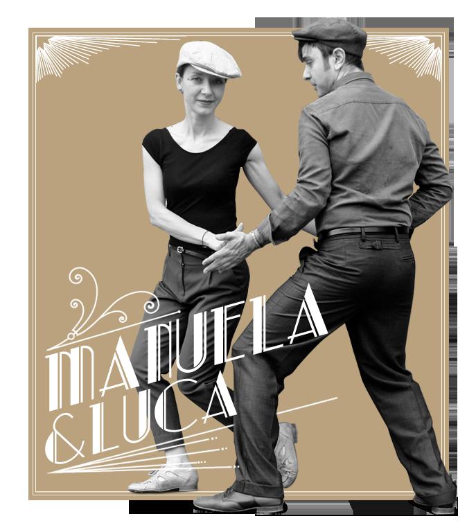 LUCA PANDA & MANUELA TENAGLIA